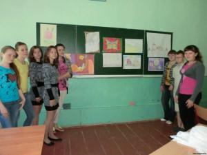 61316382 300x225 - Завершивши вивчення предмета образотворче мистецтво, учні представили творчі роботи