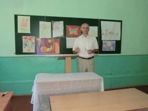 74675789 300x225 - Завершивши вивчення предмета образотворче мистецтво, учні представили творчі роботи