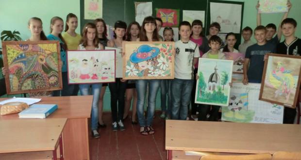 88270970 620x330 - Завершивши вивчення предмета образотворче мистецтво, учні представили творчі роботи