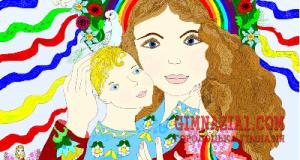 vitalina mama 300x160 - Дитина і мати. Картина звичайна. Життя все нового – великая тайна
