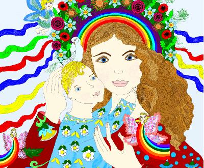 vitalina mama 400x330 - Дитина і мати. Картина звичайна. Життя все нового – великая тайна