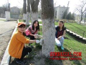 n7saYKZ2 yA 300x225 - Весняний суботник у Городоцькій гімназії