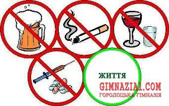 1350642022 - Наказ про організацію роботи щодо попередження, профілактики та запобігання поширенню наркоманії, тютюнопаління та вживання алкогольних напоїв серед гімназистів
