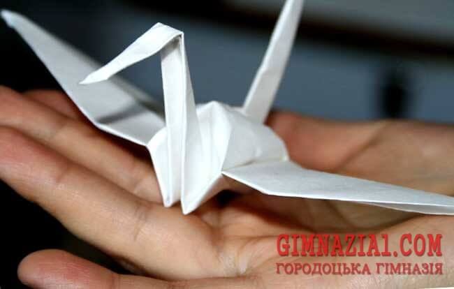 zhuravlik 1 - Орігамі «Журавлик 1000 бажань»