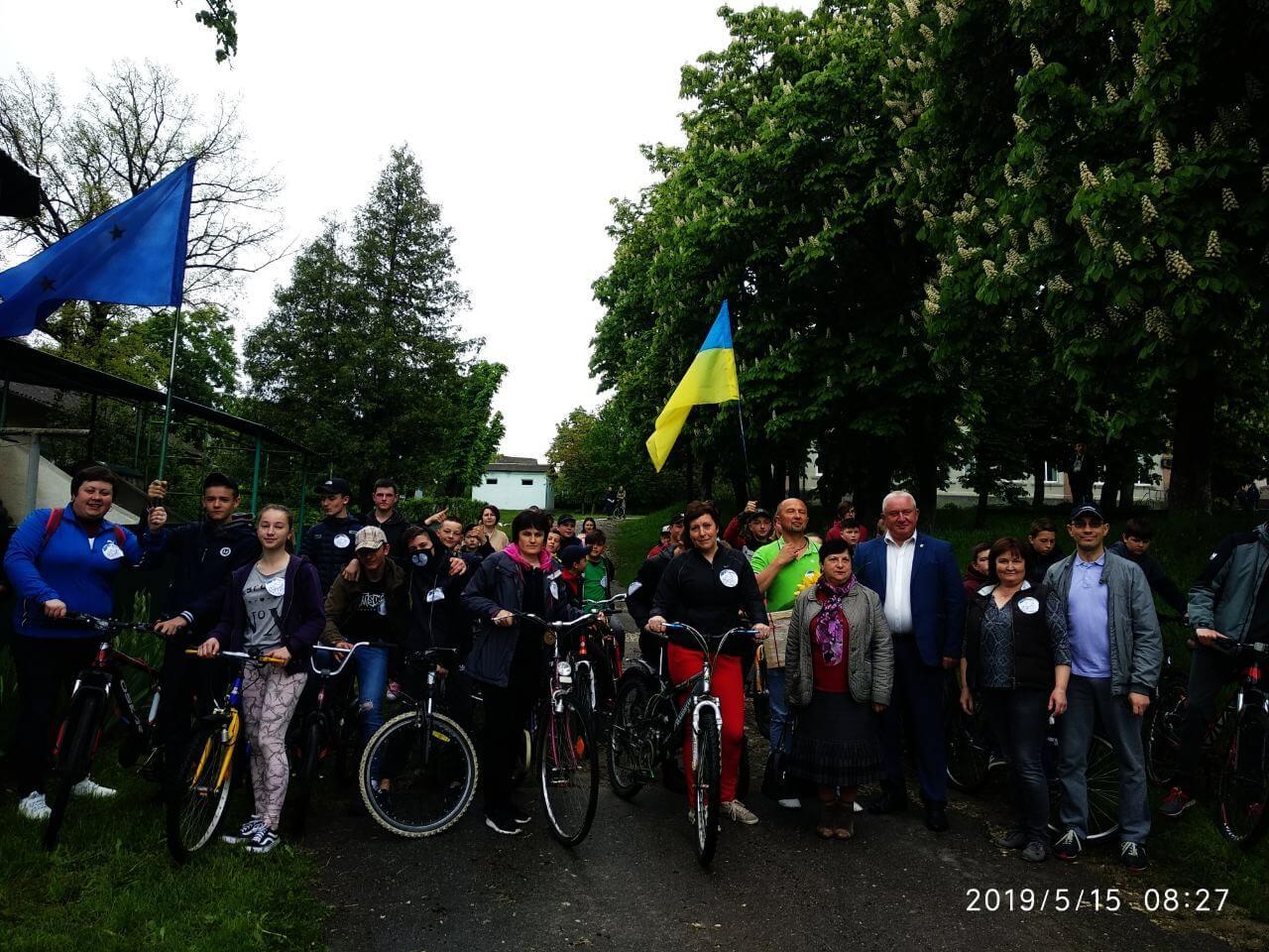 """viber image 2019 05 15 13.05.48 - Велозаїзд """"Молодь.Спорт.Європа.Майбутнє"""""""