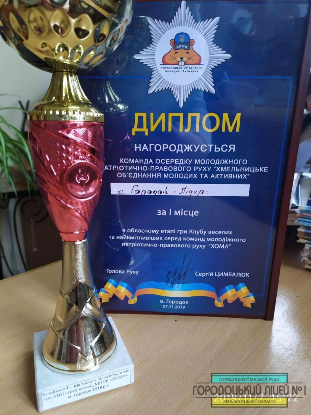IMG c9ce209ac03c636866d93f44cb0dd1ba V - Перший обласний етап гри клубу веселих та найкмітливіших серед команд молодіжного патріотично – правового руху «ХОМА» в Хмельницькій області