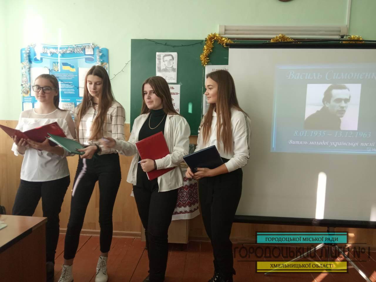 zobrazhennya viber 2020 01 20 10 06 572 - «Василь Симоненко – витязь молодої української поезії»