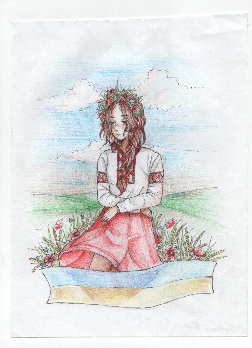 bukovska yuliya 1017x1400 - Всеукраїнський конкурс шкільних малюнків «Мої права»