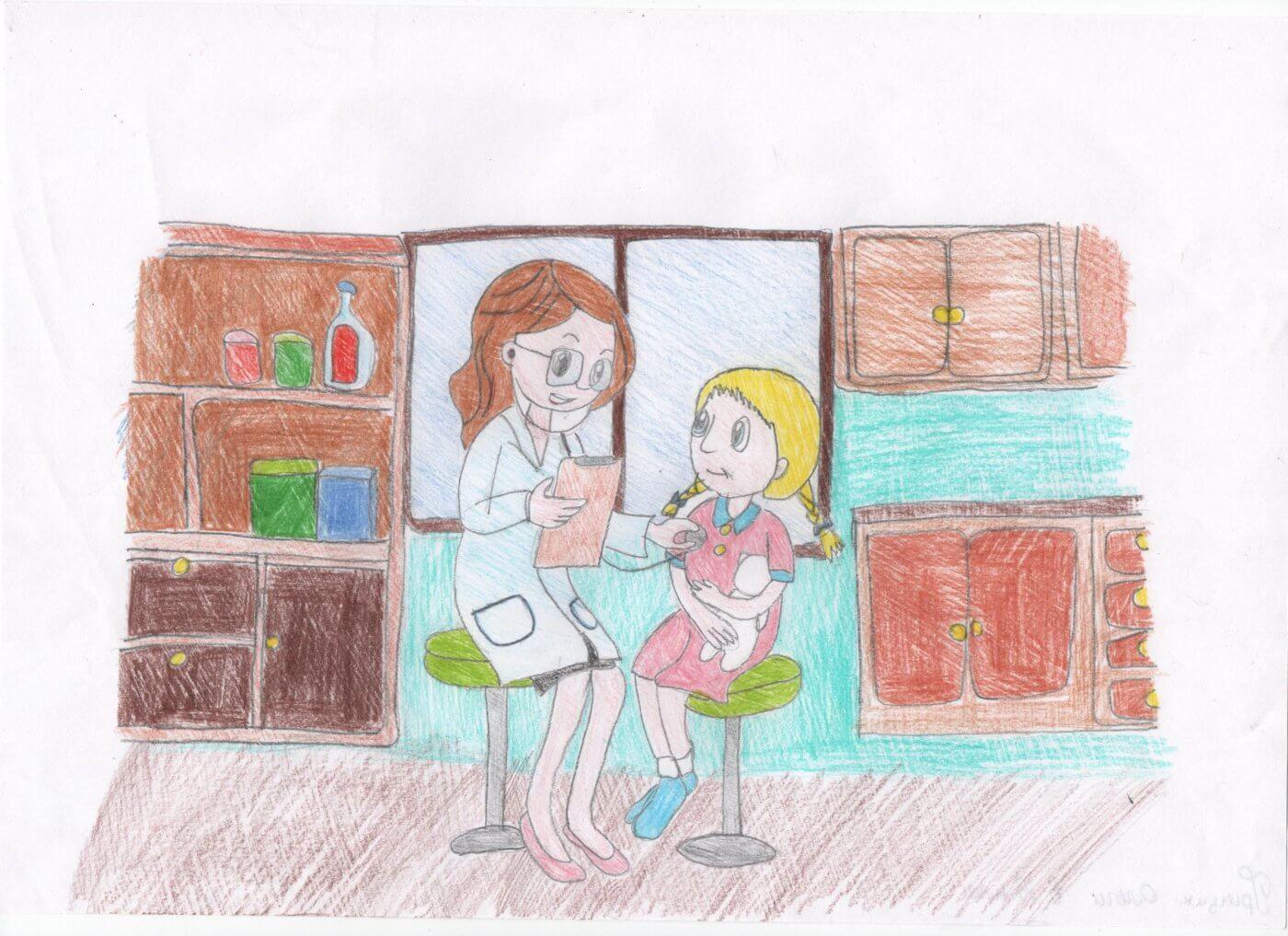 gryczyk olga 1400x1017 - Всеукраїнський конкурс шкільних малюнків «Мої права»