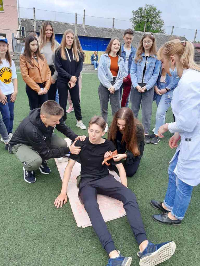 zobrazhennya viber 2021 05 18 13 17 59 - Практичні навчання  з домедичної допомоги «Знаю, вмію, врятую»